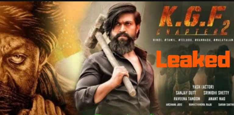 KGF Chapter 2 Full HD Movie Download 2020