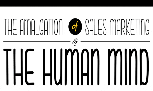 The Amalgamation Of Sales Marketing And The Human Mind #infographic
