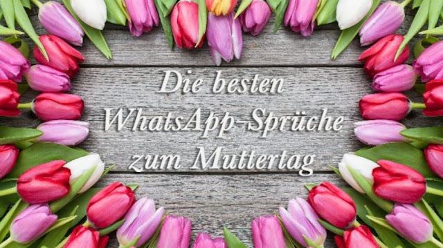 Die besten WhatsApp Sprüche Muttertag Kopie