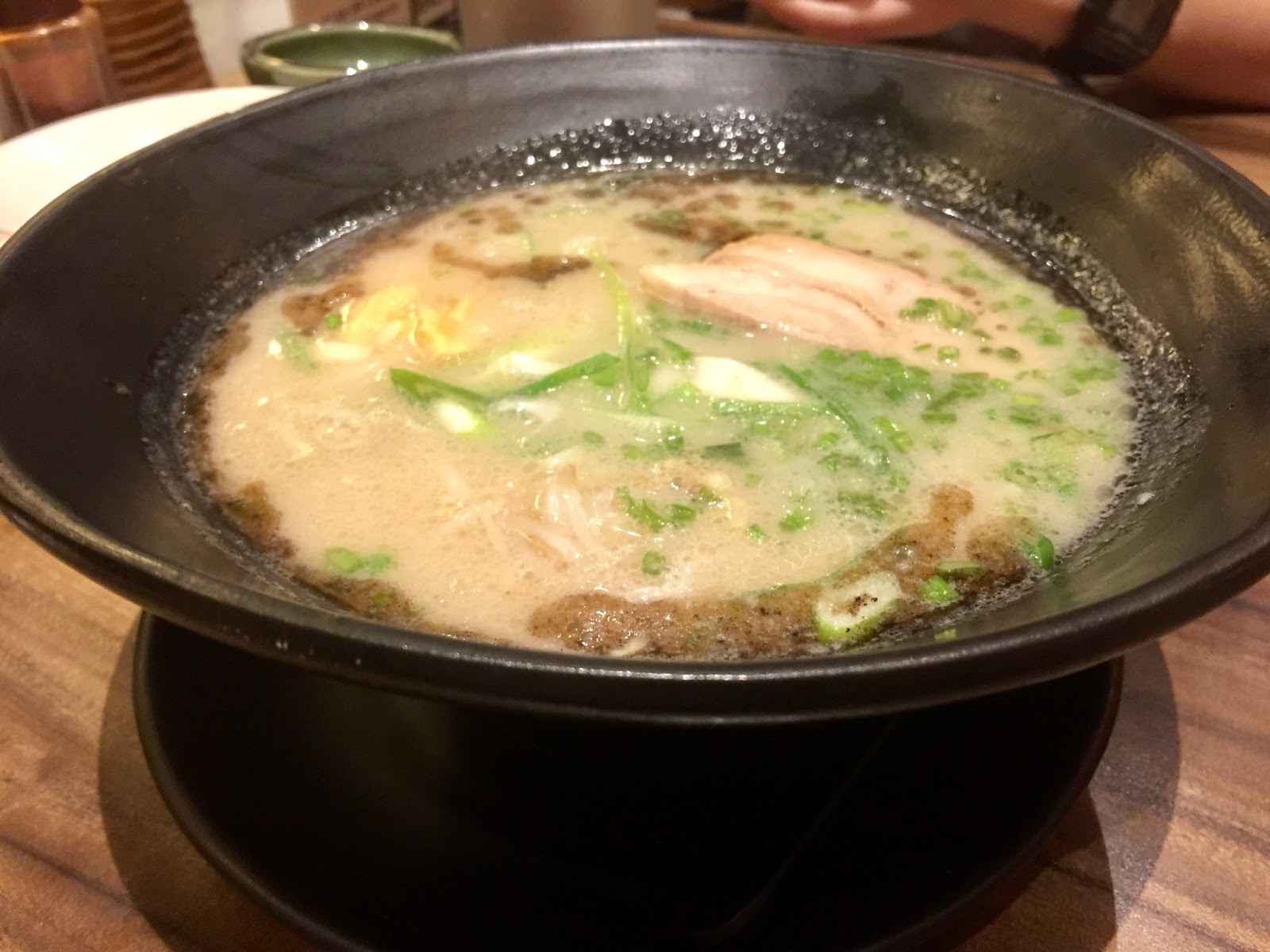 Watami Uptown Mall BGC Ramen in Special Pork Broth