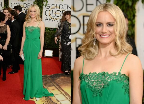 Taylor Schilling in Thakoon – 2014 Golden Globe Awards