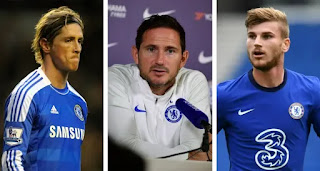 Frank Lampard has refused to compare Timo Werner to Fernando Torres struggles at Chelsea.