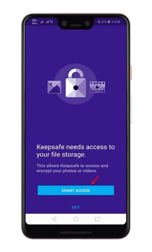 تطبيق حماية الصور Keepsafe photo vault