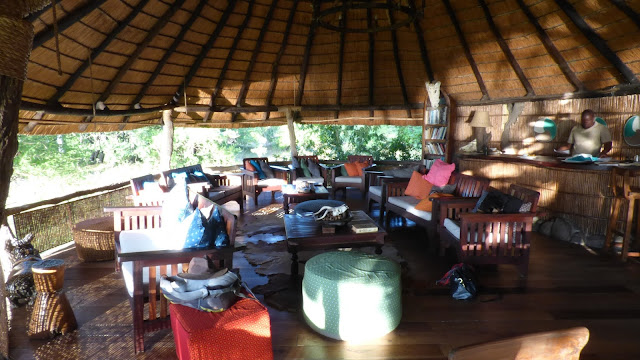 The main living area at Mvuu Lodge, Liwonde National Park