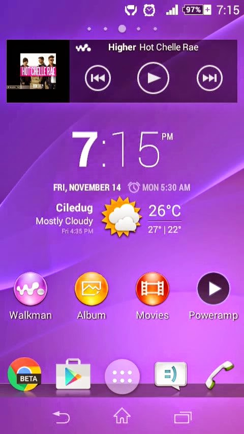 Modded Xperia Home for Xperia M - Android Development