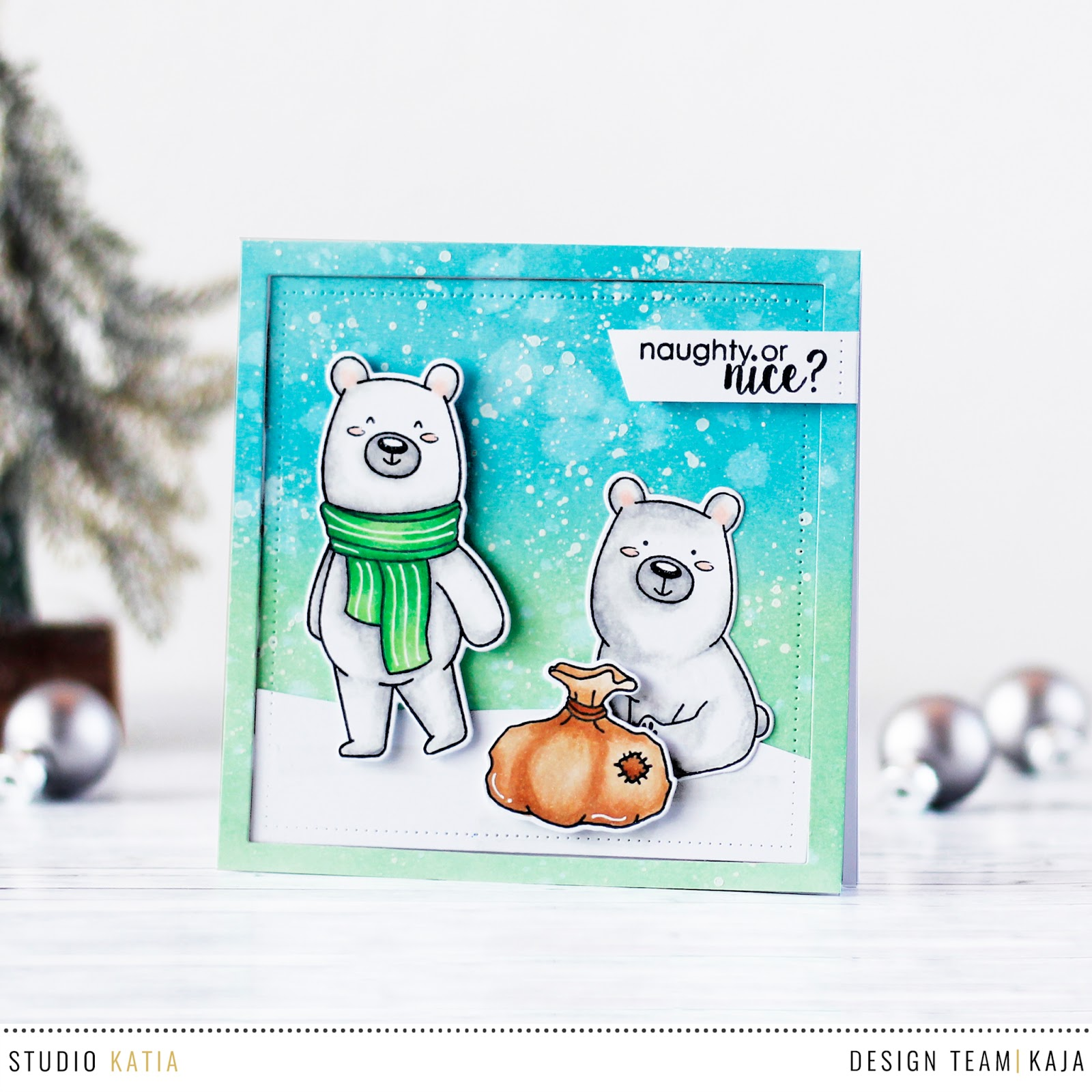 Beary Christmas | STUDIO KATIA