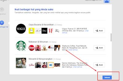 Akun Google Plus