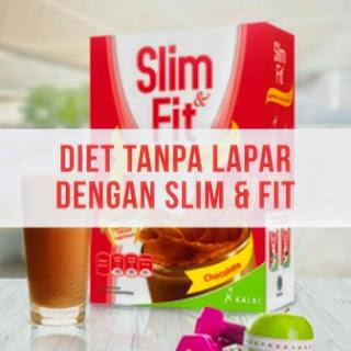Diet Tanpa Lapar dengan Slim & Fit