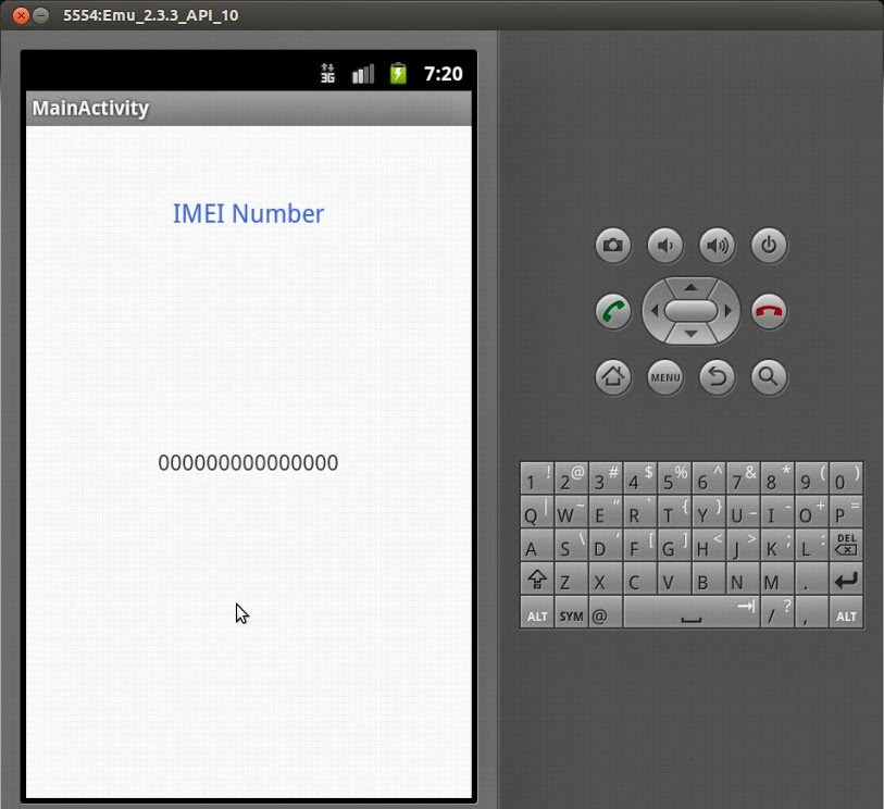 Geek On Java: How to Find IMEI Number in Android
