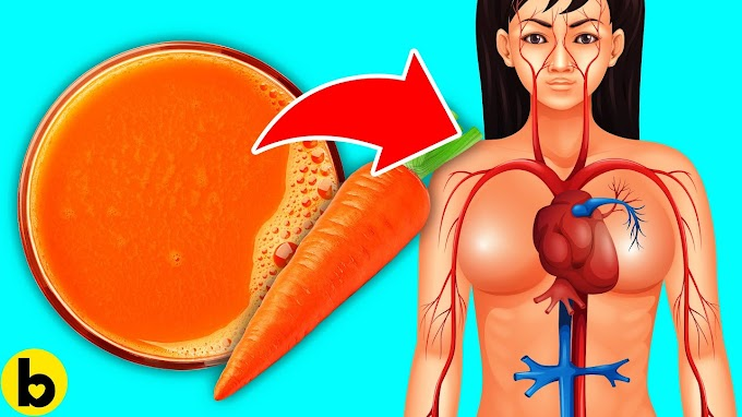 Drink Carrot Juice Every Day For 1 Week, See What Happens