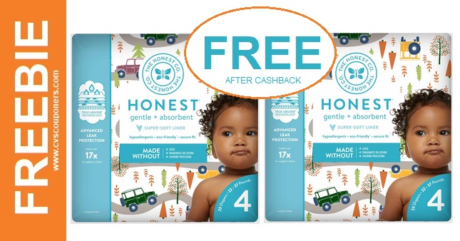 Free Bag of Honest Company Diapers