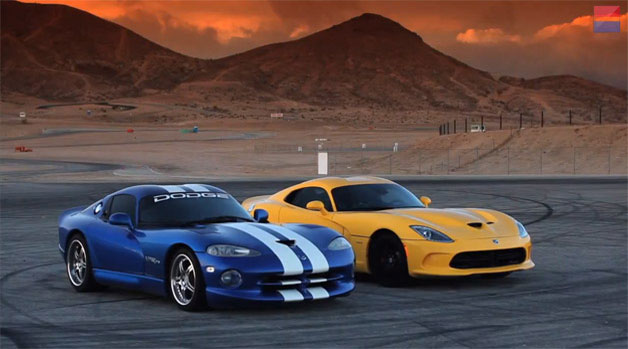 New 2017 Srt Viper Takes On Upgraded 16 Year Old Dodge