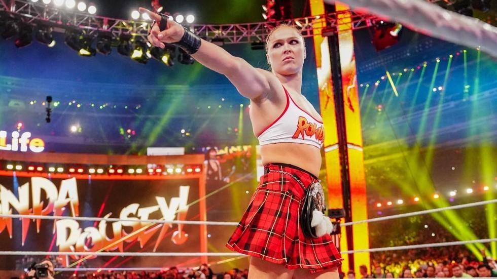 Ronda Rousey não tem planos de lutar em tempo integral na WWE