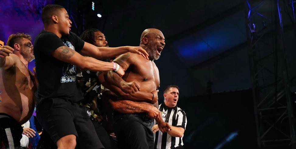 Mike Tyson in AEW