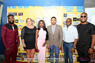 "Alex Ekubo, Toyin Abraham, Mike Godson others storm ""London Fever"" premiere"