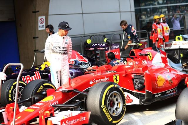 Hamilton : Salut dengan Kecepatan Ferrari Sekarang