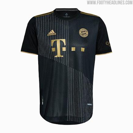 Bayern München 21-22 Away Kit Released - Footy Headlines