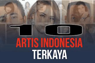 Daftar artis terkaya Indonesia di tahun 2018
