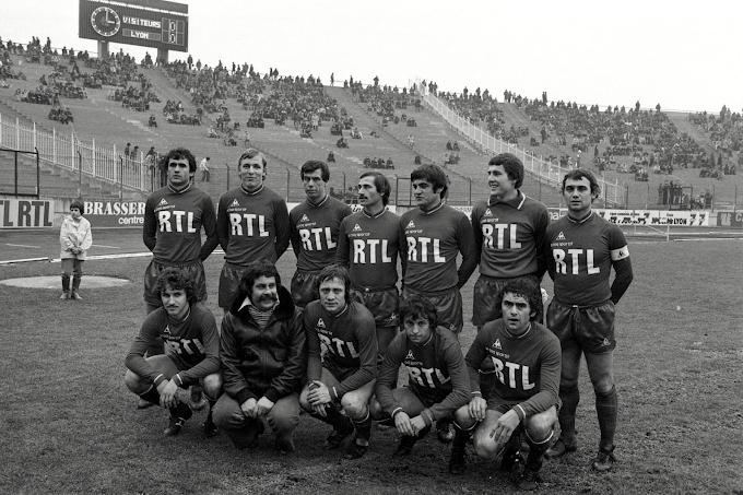 OLYMPIQUE LYONNAIS 1977-78.