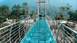Glass Bridge In India Rajgir