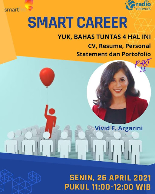 vivid f argarini smart career smart fm cv resume personal statement portofolio