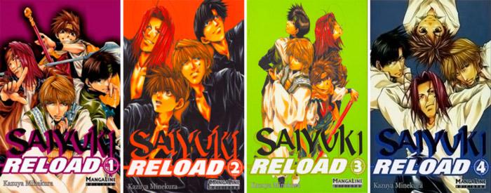 Saiyuki Reload manga - Kazuya Minekura - Mangaline Ediciones