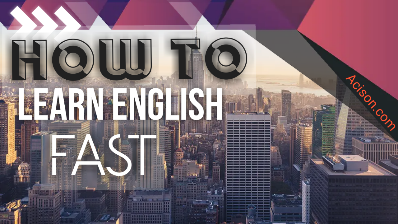 HOW TO LEARN ENGLISH LANGUAGE FAST , How many letters are there in the English Alphabet