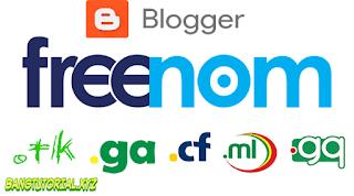 Menghubungkan Domain Freenom Ke Blogspot
