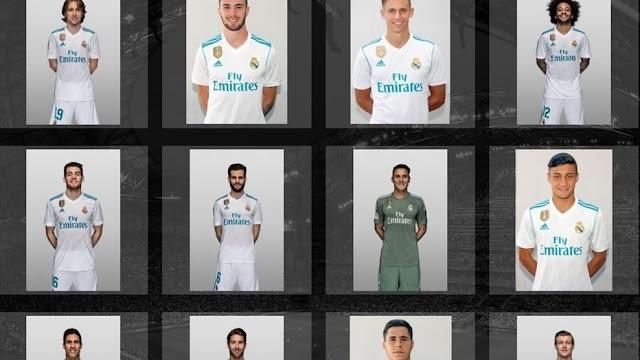 Listas de inscritos na Champions League 2017/18