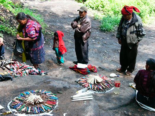 ritual Maya. Guatemala