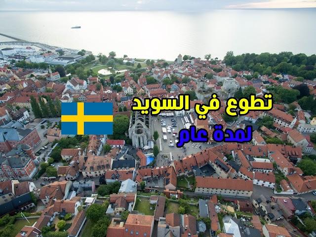 فرصة للتطوع مع منظمة RELEARN Suderbyn في السويد لمدة عام كامل