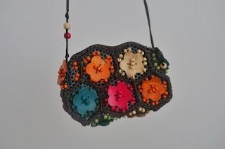 torebka z kwiatkami z lumpeksu second hand