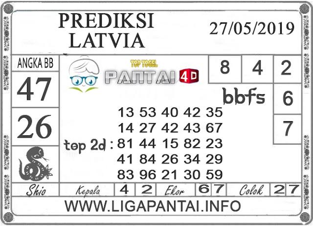 PREDIKSI TOGEL LATVIA 27 MEI 2019