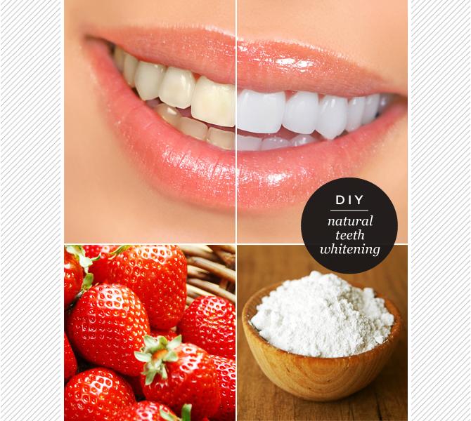 Maiko Nagao Diy Natural Baking Soda Strawberry Teeth Whitening