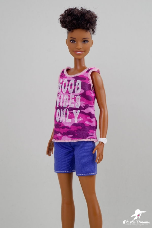 fashionistas barbie doll 128 good vibes only