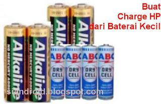 cara buat powerbank dari baterai abc dan alkaline