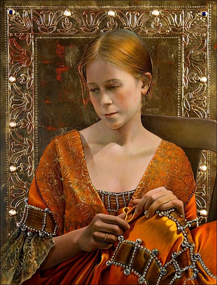 Fred Wessel ~ Egg Tempera painter | Tutt'Art@ | Pittura ...