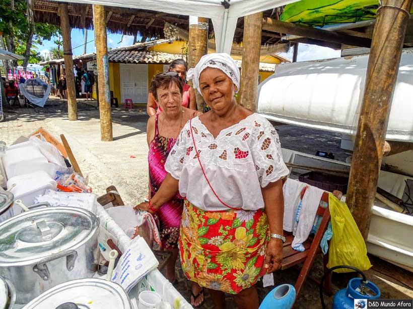 O que fazer na Praia do Forte, Bahia - baiana do Acarajé
