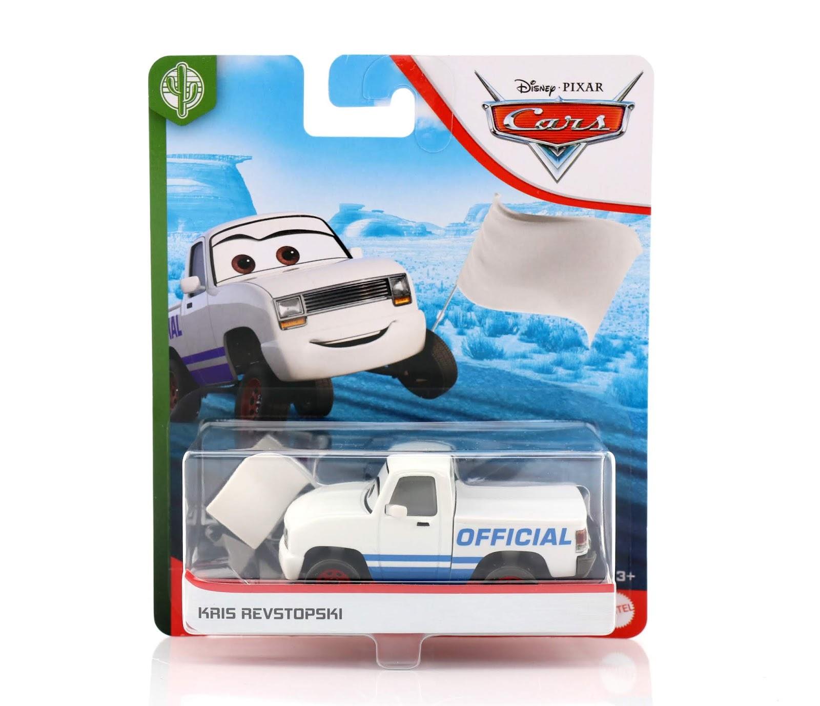 Cars 3  Kris Revstopski (White Flag Version) diecast