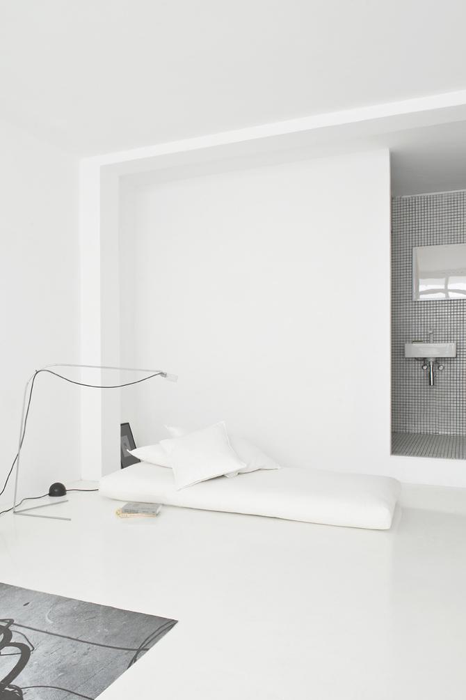 El rincón minimalista del salón