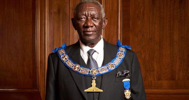 Kufuor appointed Senior Grand Warden of UK Freemason