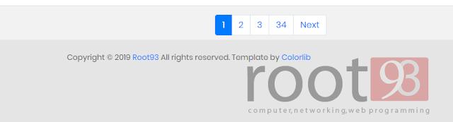 Membatasi jumlah pagination halaman php