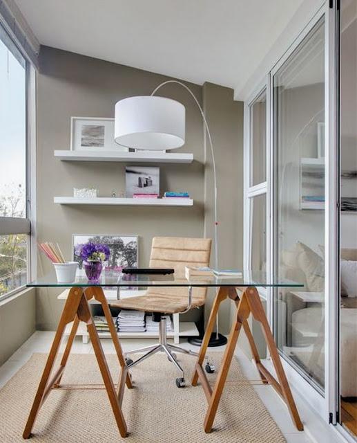 C mo decorar una peque a oficina en casa decoraci n del for Como decorar una oficina pequena