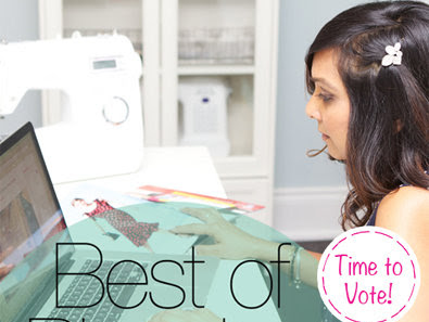 I've Been Nominated for Burdastyle's Best of Blogging!