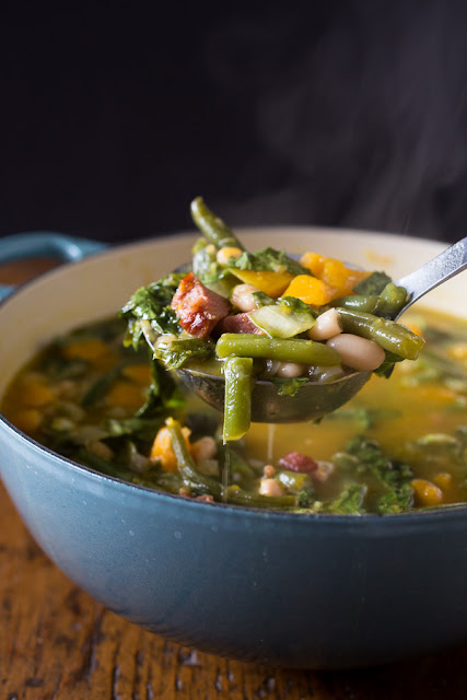 Butternut Squash Minestrone Soup by Nutmeg Nanny