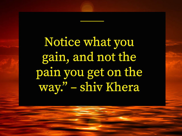 Quotes by – Shiv Khera