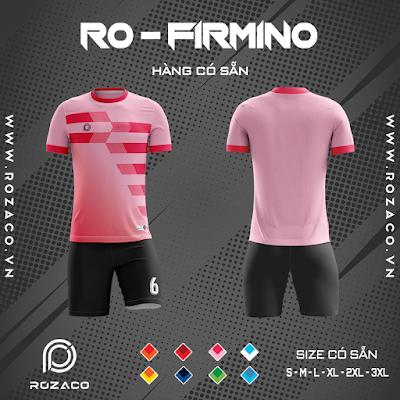 Áo Không Logo Rozaco RO-FIMINO Màu Hồng