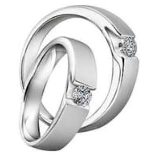 cincin silver cincin perak cincin lapis perak cincin nikah murah cincin nikah 4