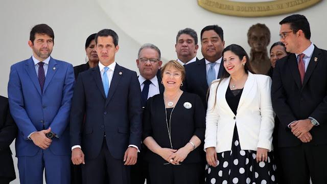 VENEZUELA: Guaidó a Bachelet: la solución a la crisis pasa por cese a la usurpación.