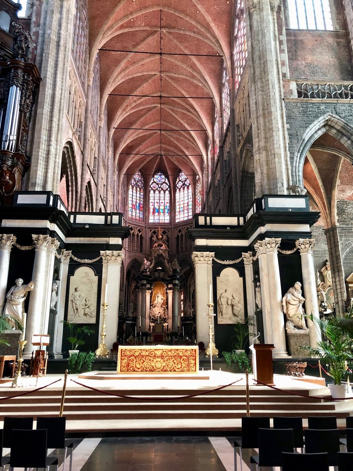 Saint Bavo's Cathedral in Gent, Belgium